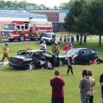 High School holds Mock DWI crash
