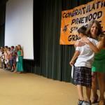 Fifth graders celebrate milestone