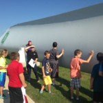 Students learn about wind power in 'GE Little Engineers' program
