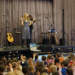 Bradt celebrates Earth Day with visit from musical yogini
