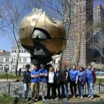Students meet with Holocaust survivor, visit memorials in NYC