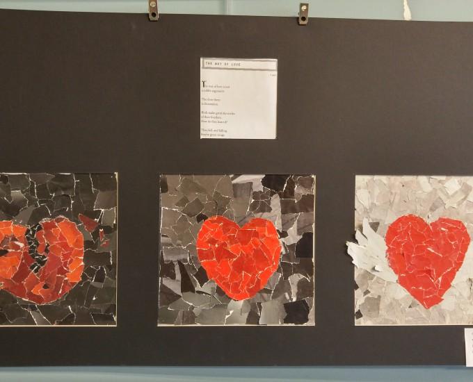 Student artwork on display at capital region boces art for Capital region craft fairs