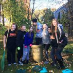 Mohonasen middle school students mark National Make a Difference Day by helping local senior citizens