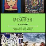 Draper student art show is Thursday, Jan. 18