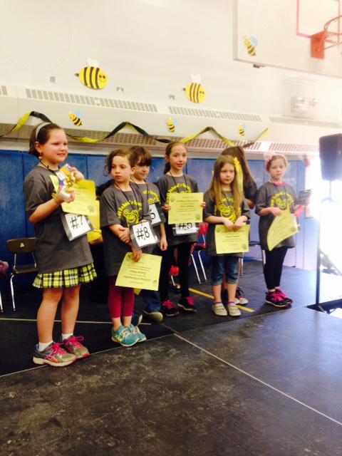 Second Grade Spelling Bee