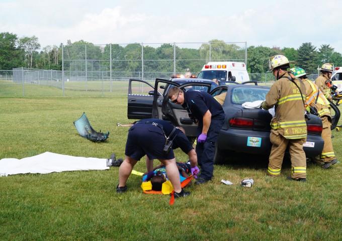 High School Mock DWI Crash