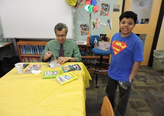Author Chris Grabenstein Visit's Pinewood May 5