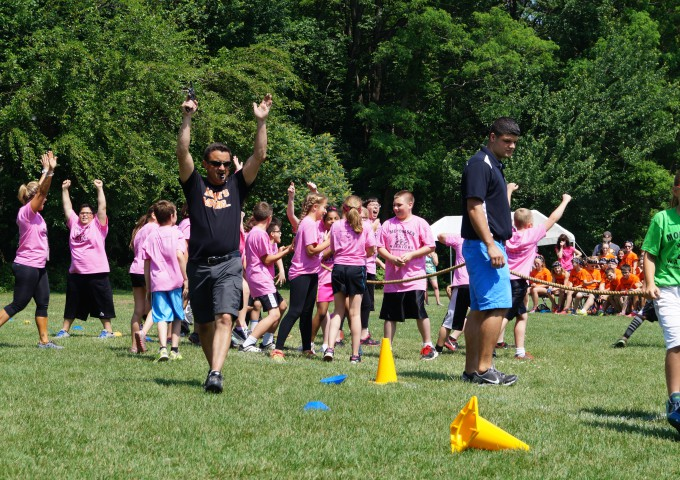 Fifth Grade Track and Field Day
