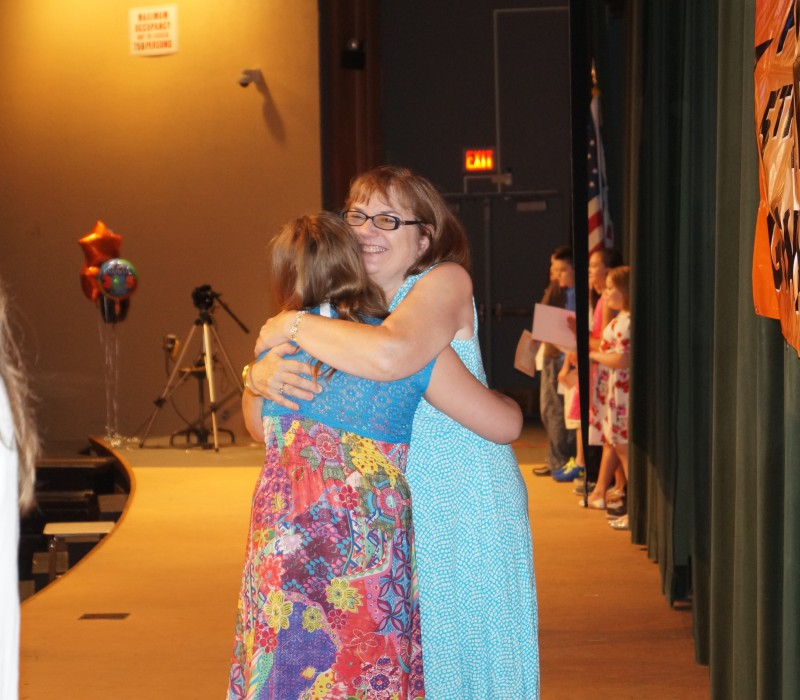Fifth Grade Moving Up Ceremony 2015