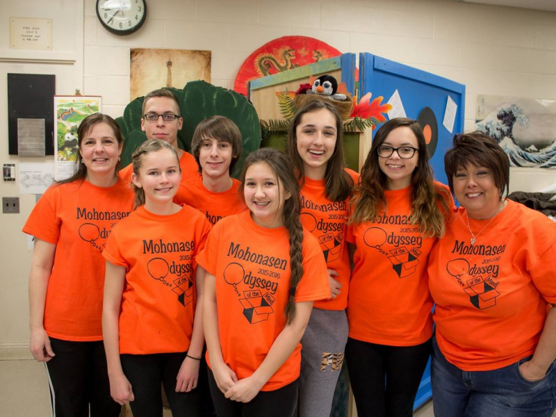 odyssey of the mind students