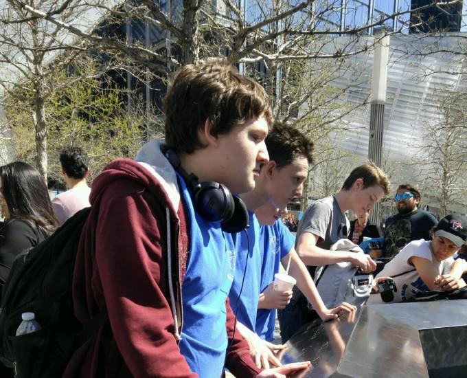 students at memorial