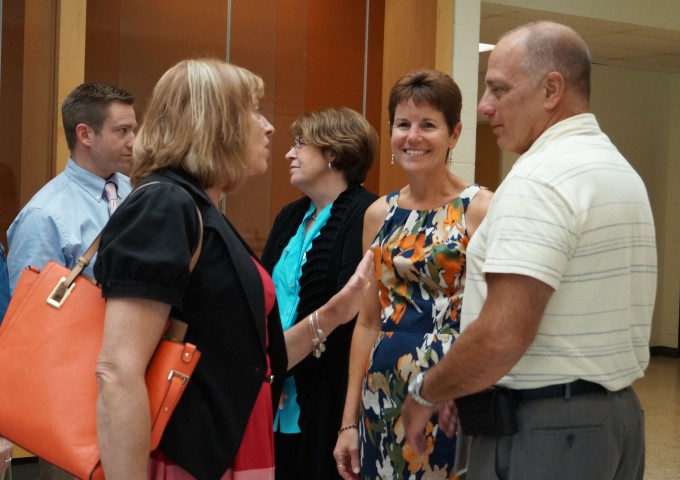 Retirees and tenured employees celebrated at reception