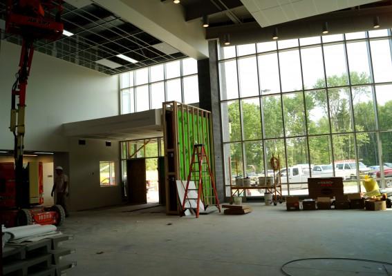 Transportation building construction