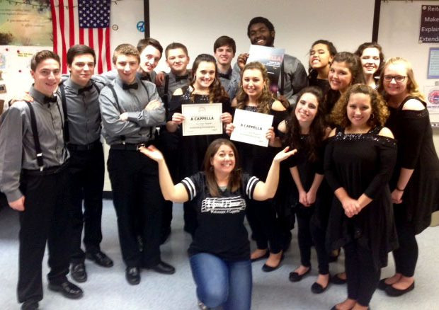 Mohonasen High School's a capella group For Good Measure