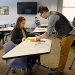 8th graders glimpse future opportunities during annual Career Day