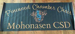 Pinewood Chamber Choir Mohonasen CSD banner