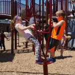 Bradt cuts ribbon on 'best playground ever'