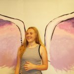 Angel wings land at Draper Middle School