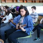 Music students gain insight on performance, industry during Tri-M Workshop Day