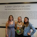Works of three selected for juried art show