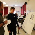 Eighth graders share WWII history with staff, students