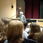 Holocaust survivor shares life story, lessons with Draper students