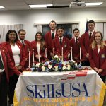 Two MHS students in Skills USA leadership roles