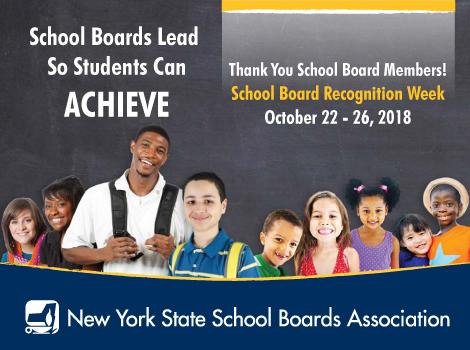 school board week logo