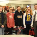 French Honor Society sponsors Chocolate Mousse Contest