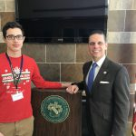 MHS junior gets up-close look at legislative process