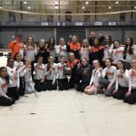 Girls Indoor Track & Field wins Section 2 championship