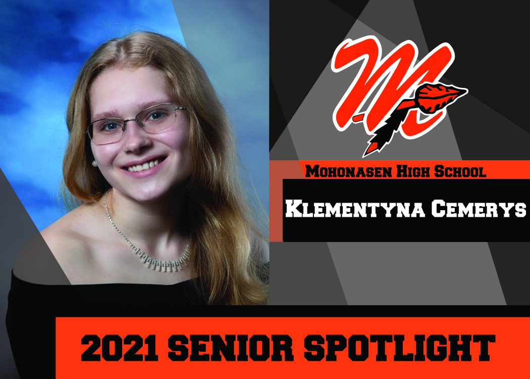 MHS Senior K. Cemerys is a 2021 Top 10 student10