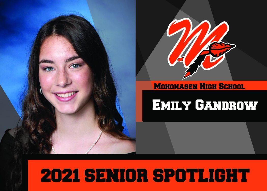MHS Senior E. Gandrow is a 2021 Top 10 student10